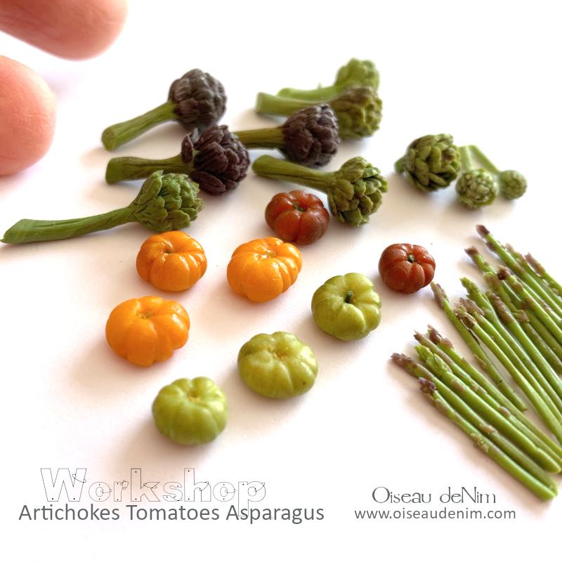 Online Workshop: Artichokes Tomatoes Asparagus